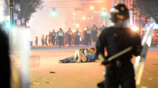 Любов по време на протести