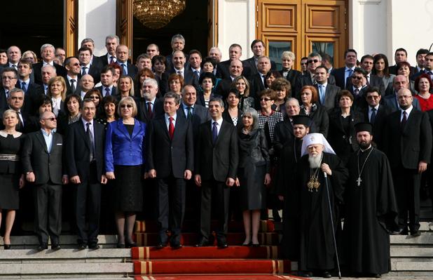 Клетва на новия президент Росен Плевнелиев
