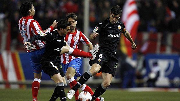 Атлетико (Мадрид) - Валенсия 0:0 на 5 февруари 2012