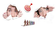 Клиенти, хора, target