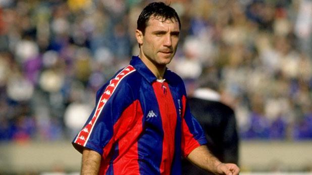 Христо Стоичков в Барселона през 1992