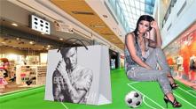 Футбол в мола