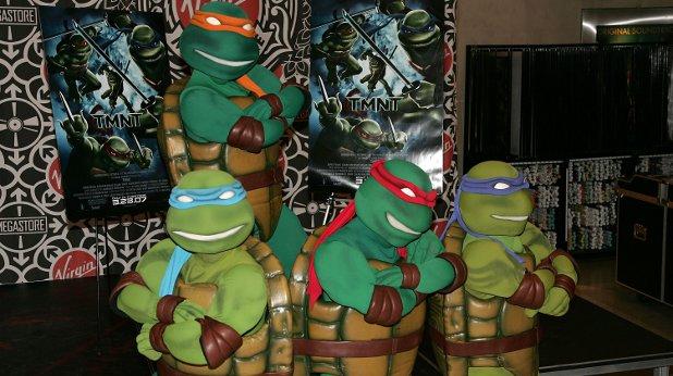 костенурки, нинджа