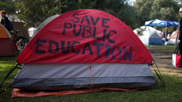 студенти, палатка
