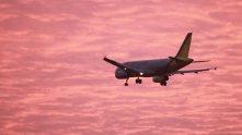 самолет, небе