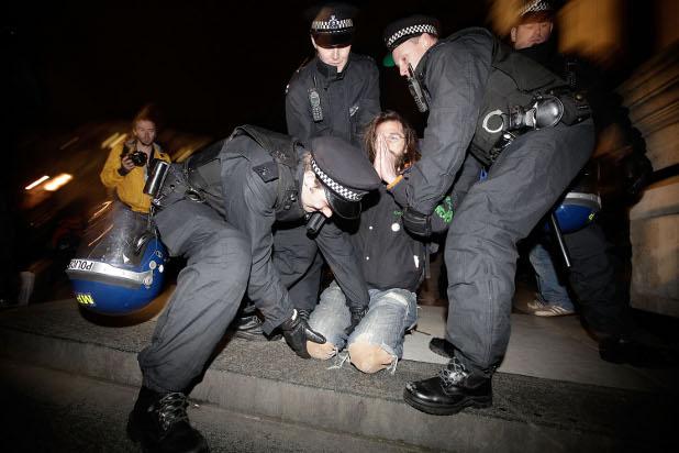 окупирай лондон