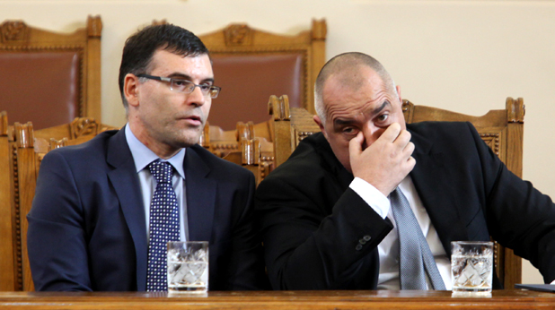 Симеон Дянков и Бойко Борисов