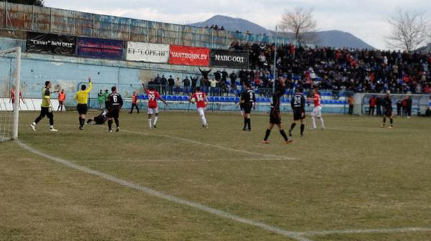 Септември (Симитли) - ЦСКА 2:1 в четвъртфинал за Купата на България, игран на 15 март 2012