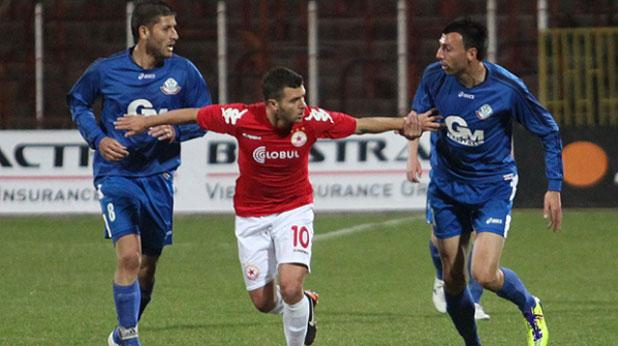 Жуниор Мораес се отличи с гол и асистенция за победата на ЦСКА над Монтана с 2:0 на 19 март 2012