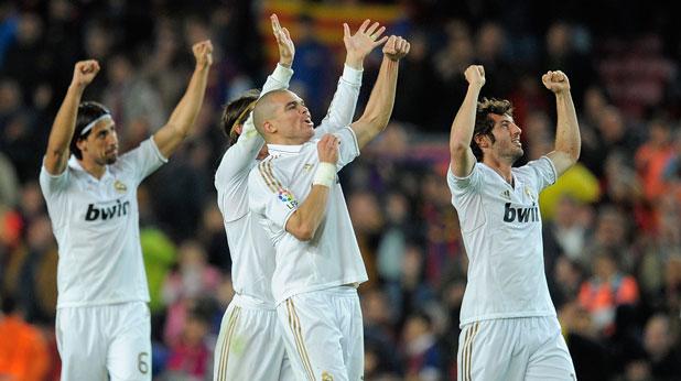 Реал (Мадрид), радост, Сами Кедира, Пепе