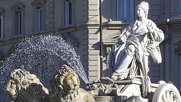богиня, Кибела, Мадрид, фонтан