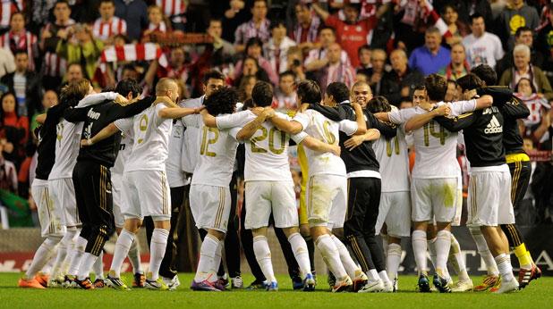 Реал (Мадрид), радост, шампиони, Примера дивисион, 2012
