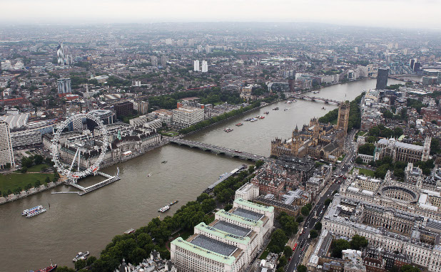 полет над лондон