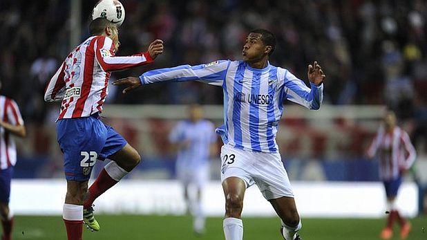 Атлетико (Мадрид) - Малага 2:1 на 5 май 2012