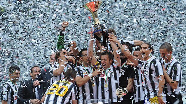 Ювентус, радост, шампион, титла, скудето, Италия, сезон 2011/12, 2012, Алесандро дел Пиеро, купа