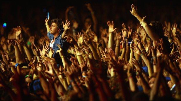 тълпа концерт