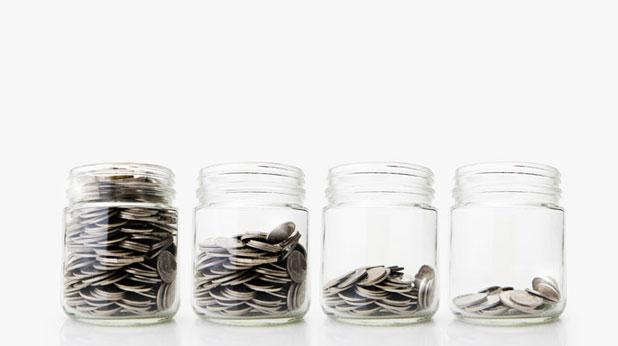 Буркани с пари
