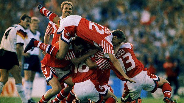 Дания, Евро 1992, европейски шампион, радост, Германия, финал