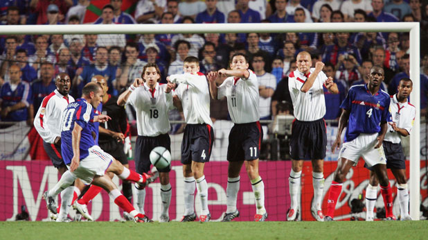 Зинедин Зидан, Патрик Виейра, Франция, Англия, Евро 2004