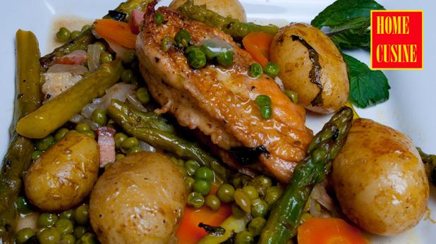 пролетно пиле с аспержи