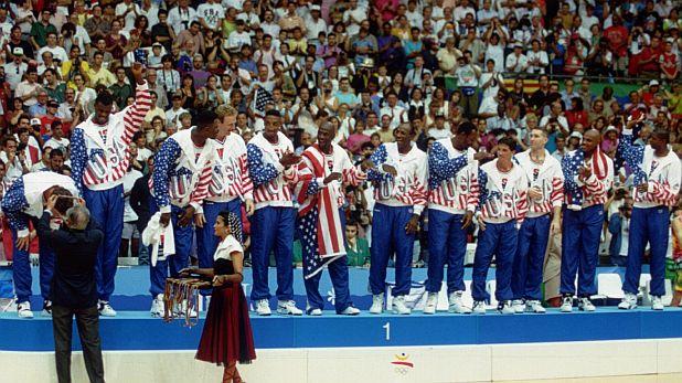 Дрийм тийм, САЩ, НБА, Барселона 1992, Олимпийски игри, олимпийски шампион, баскетбол