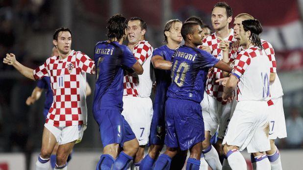 Италия - Хърватия 0:2 в контрола, играна на 16 август 2006