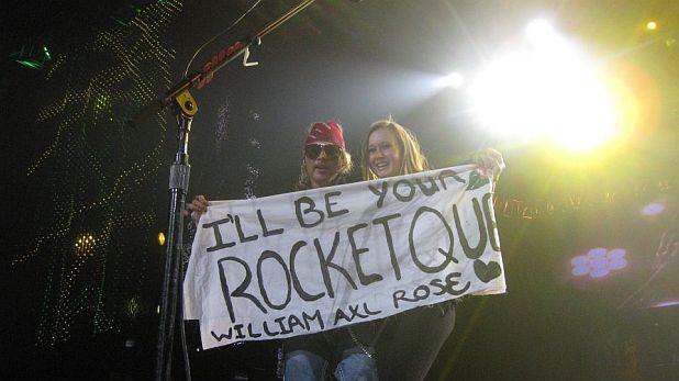 Аксел Роуз, концерт, Guns'n'Roses
