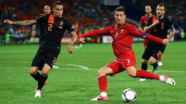 Грегъри ван дер Вил, Холандия, Португалия, Кристиано Роналдо, Евро 2012