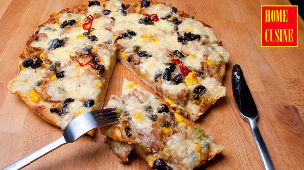пица с риба тон и моцарела