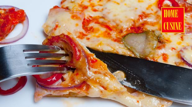 пица с шунка и пушен кашкавал