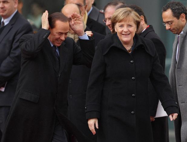 меркел, силвио
