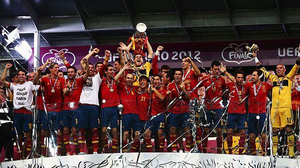 Испания, европейски шампион, Евро 2012
