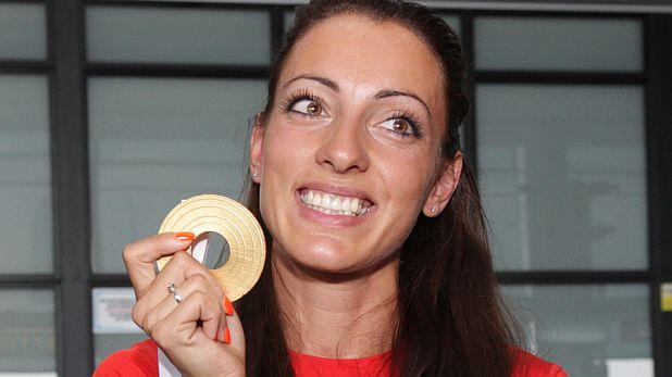 Ивет Лалова, златен медал, европейско първенство, 2012, хелзинки, европейска шампионка, европейска титла, бягане, 100 метра, лека атлетика