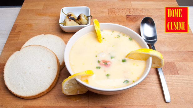 супа с три вида риба