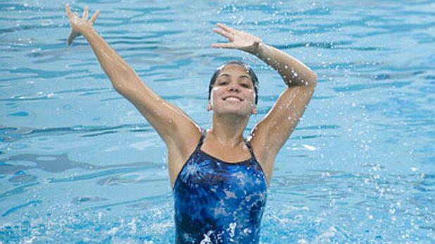 Индивидуално синхронно плуване