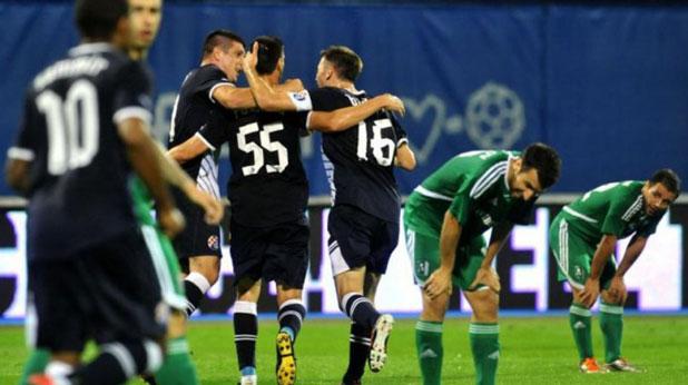 Динамо (Загреб) отстрани Лудогорец с 3:2 в реванша от Втори квалификационен кръг на Шампионската лига, игран на 25 юли 2012