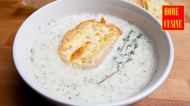 провансалска чеснова супа