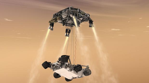 Curiosity, Марс