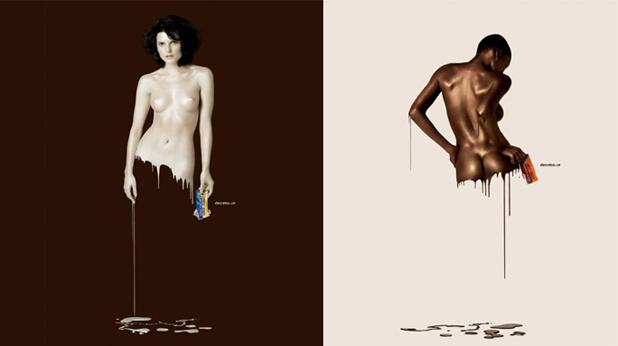 бял шоколад, черен шоколад