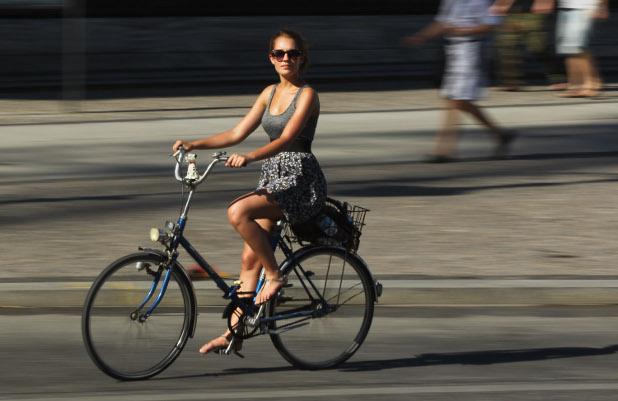 мацка с колело