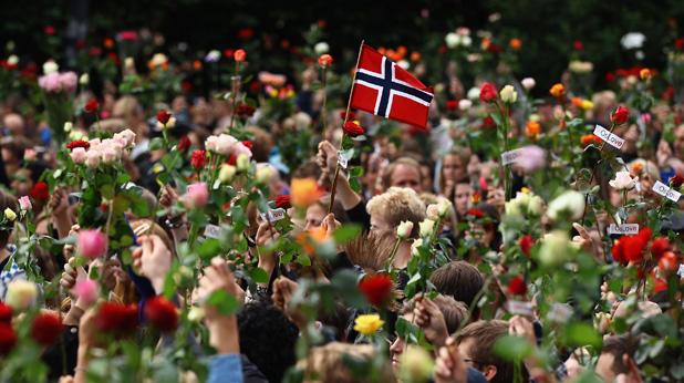 Норвегия - Андерс Брайвик