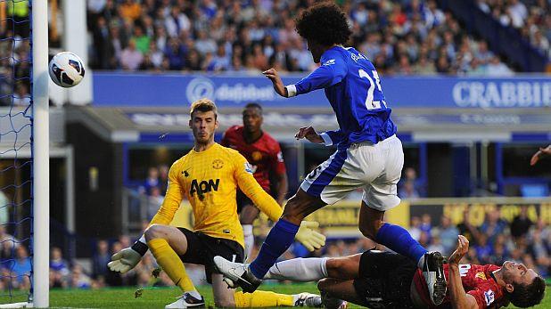 Освен че отбеляза победния гол за Евертън срещу Манчестър Юнайтед на 20 август 2012, през целия мач Маруан Фелайни не спря да тормози вратаря Давид де Хеа и игралия като защитник Майкъл Карик