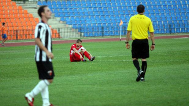 ЦСКА - Локомотив (Пловдив) 0:0 на 25 август 2012