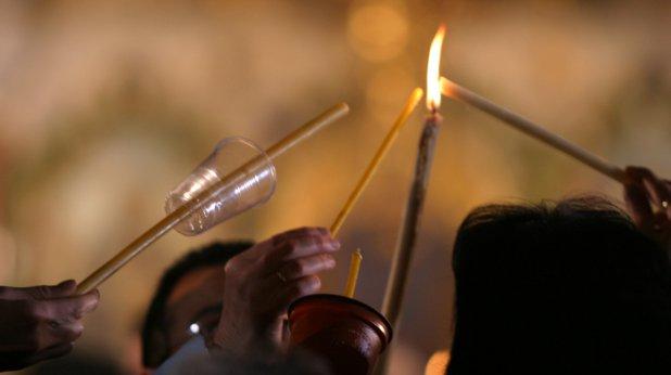 параклис, свещи