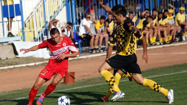 Антон Карачанаков отбеляза два гола за победата на ЦСКА с 4:1 над Миньор на 31 август 2012