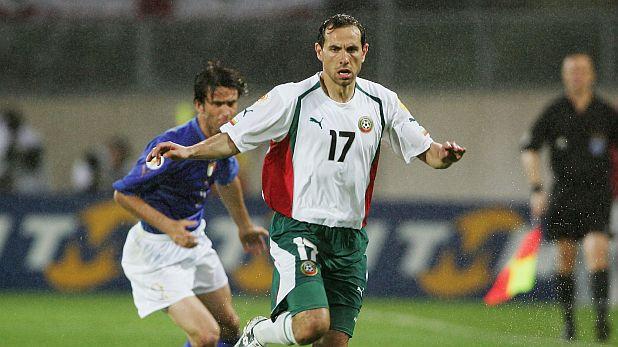 Мартин Петров отбеляза гола за България при загубата с 1:2 от Италия в груповата фаза на Евро 2004