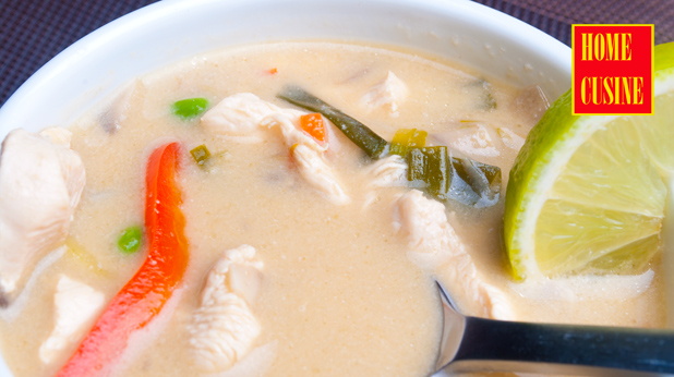 тайландска супа том ка гай