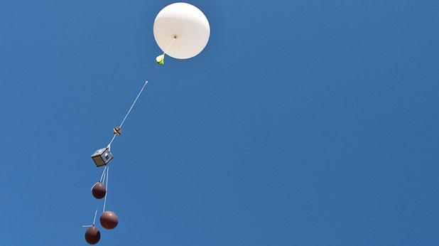 """Балонът от """"Космически предизвикателства"""""""