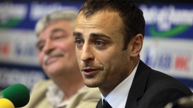 Димитър Бербатов, пресконференция
