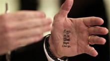 Ръка на политик